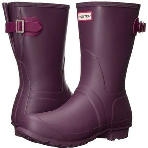 NWT hunter short boots size 8